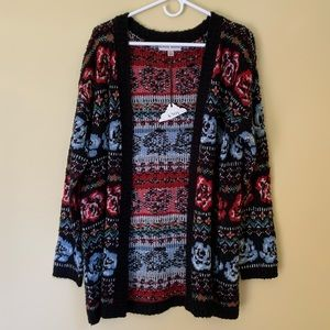 Knox& Rose Multi Pattern Cardigan